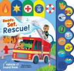 10 Button Sound Book Emergency Vehicles