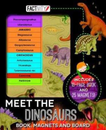 Magnetic Folder - Meet The Dinosaurs Factivity by Various