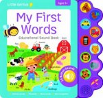 Little Genius Educational Sound Book My First Words