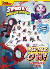 Spidey And His Amazing Friends  Puffy Sticker Book