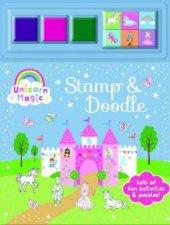 Stamp  Doodle  Unicorn Magic