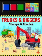 Stamp  Doodle  Trucks And Diggers