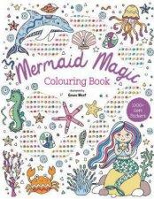 Gem Art Colouring Book  Mermaid Magic
