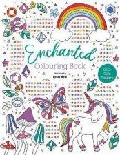 Gem Art Colouring Book  Enchanted