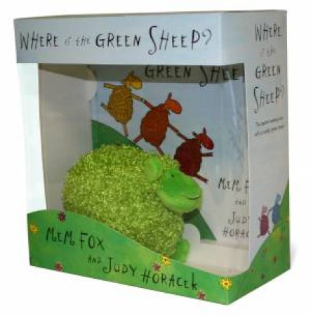 Where is the Green Sheep? Book & Plush