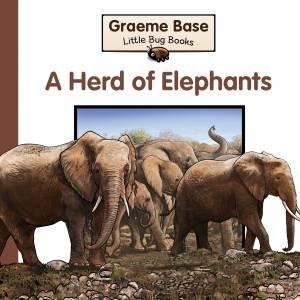 Little Bug Books: Herd of Elephants by Graeme Base