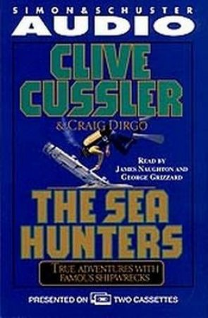 The Sea Hunters - Cassette by Clive Cussler