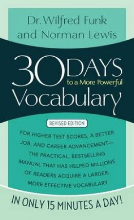 30 Days More Powerful Vocabulary by Various