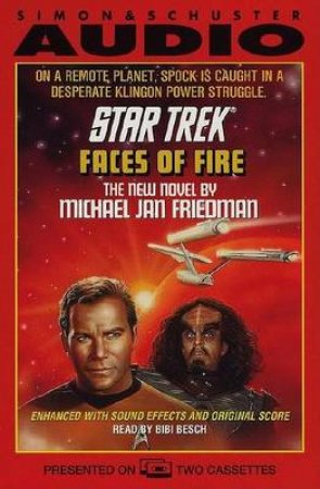 Faces Of Fire - Cassette by Michael Jan Friedman