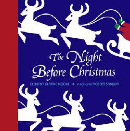 Night Before Christmasm, Pop-Up Book by Robert Sabuda