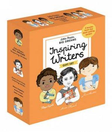 A Little People, Big Dreams Box Set: Inspiring Writers  by Isabel Sanchez Vegara