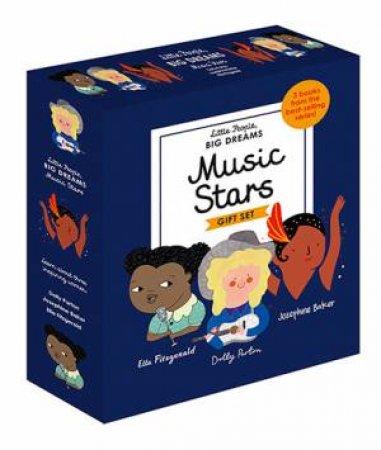 A Little People, Big Dreams Box Set: Music Stars  by Isabel Sanchez Vegara