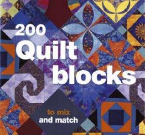 200 Quilt Blocks by DAVINA THOMAS