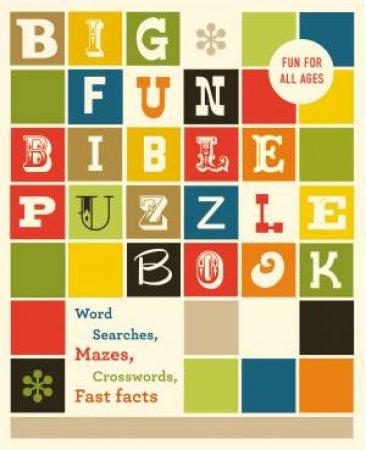 Big Fun Bible Puzzle Book by Various