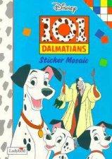 101 Dalmatians Sticker Mosaic