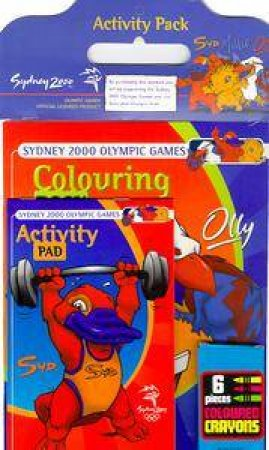 Sydney 2000 Olympics Activity Pack - Colouring Book, Activity Pad & Crayons by Various
