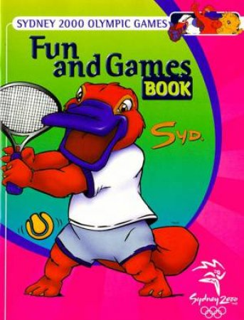 Sydney 2000 Olympics Fun & Games Book by Various