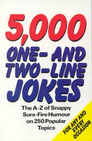 5000 One And Two Line Jokes by Leopold Fechtner