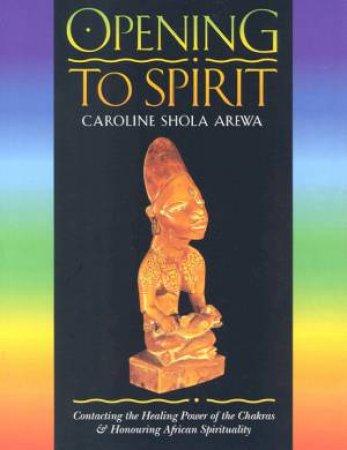 Opening To The Spirit by Caroline Shola Arewa