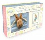 Peter Rabbit Book and Snuggle Blanket Box Set