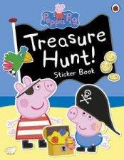 Peppa Pig Treasure Hunt Sticker Book
