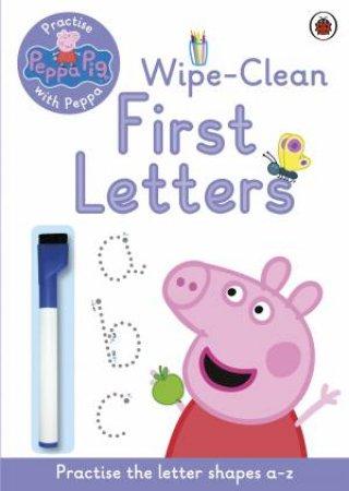 Peppa Pig: Practise with Peppa: Wipe-Clean Writing by Various