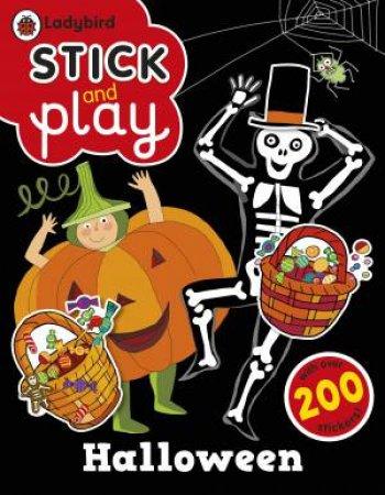 Halloween: A Ladybird Stick and Play Sticker Book