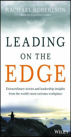 Leading on the Edge by Rachael Robertson