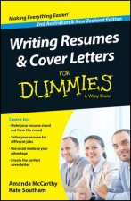 Writing Resumes and Cover Letters for Dummies Second Australian  New Zealand Edition