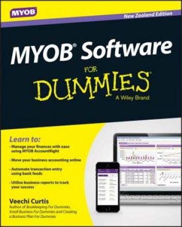 MYOB Software for Dummies, New Zealand Edition