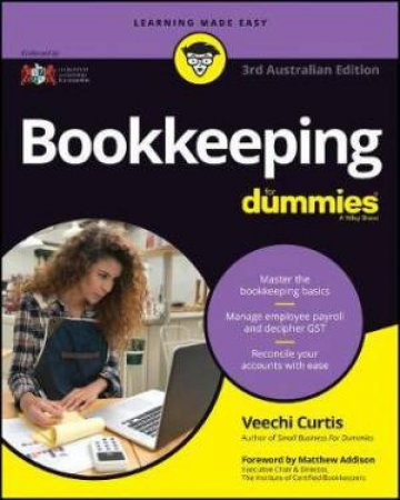 Bookkeeping For Dummies - Australia by Veechi Curtis