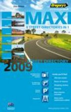 Gregorys Maxi NSW Street Directory 2009