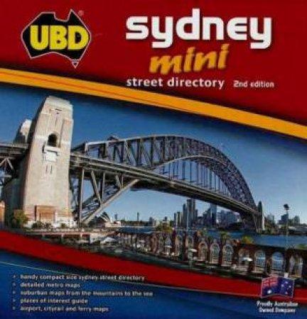UBD Mini Sydney Street Directory 2 ed