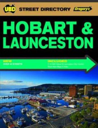 Gregorys UBD Street Directory: Hobart & Launceston - 3rd Ed.