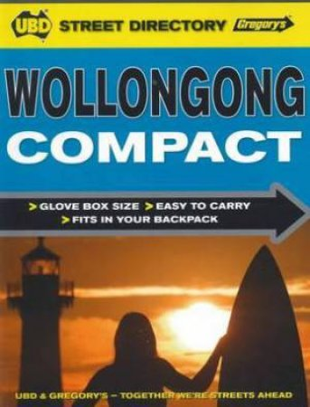 UBD Gregorys Wollongong Compact Street Directory (1st Edition)