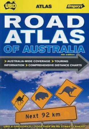 UBD/Gregorys Road Atlas Of Australia, 4th Ed