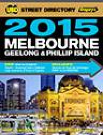 UBD/Gregorys 2015 Melbourne Street Directory, 49th Ed