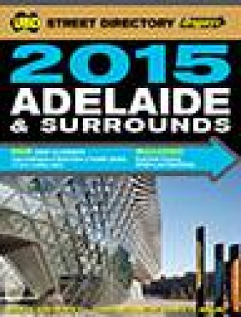 UBD/Gregorys 2015 Adelaide Street Directory, 53rd Ed