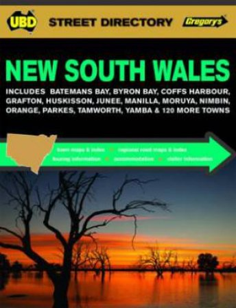 UBD/Gregory's New South Wales Street Directory - 19th Edition