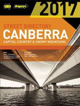 UBD/Gregory's Canberra Compact Street Directory 2017 5th ed