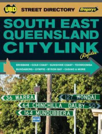 UBD/Gregory's South East Queensland Citylink Refidex - 7th Ed.