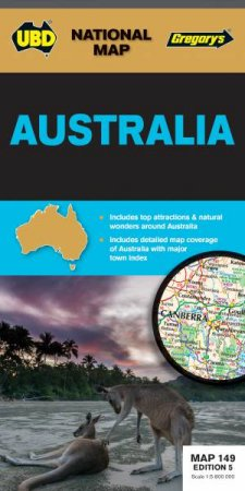 UBD/Gregorys Australia Map 149 - 5th Ed by Various