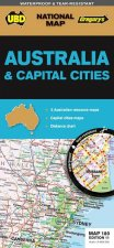UBDGregorys Australia  Cities Map 180 11th Ed