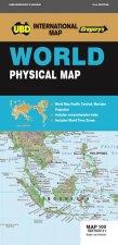 UBDGregorys World Physical Map 100  21st Ed