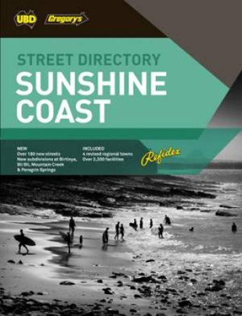 UBD/Gregory's Sunshine Coast Refidex Street Directory 9th