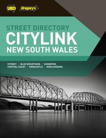 UBD/Gregory's New South Wales City Link Street Directory, 27th ed