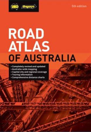 UBD Gregory's Road Atlas Of Australia 5th Ed