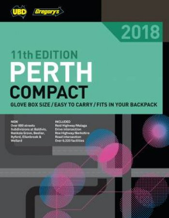 Perth Compact Street Directory 2018 11th Ed