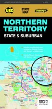 UBD Gregory's Northern Territory State & Suburban Map 571 13th Ed by Various