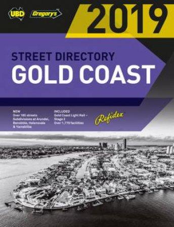 UBD/Gregory's Gold Coast Refidex Street Directory 2019 - 21st Ed